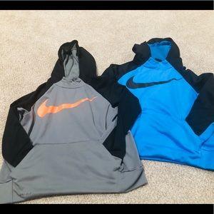 Boys Nike Dri Fit Hoodie Lot